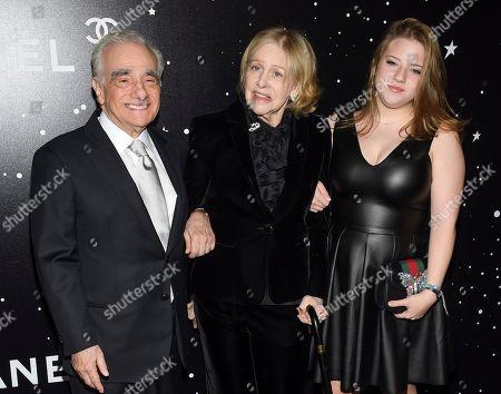 Martin Scorsese, Helen Morris, Francesca Scorsese