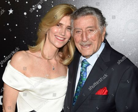 Stock Image of Susan Benedetto,Tony Bennett. Singer Tony Bennett and wife Susan Benedetto attend the Museum of Modern Art Film Benefit tribute to Martin Scorsese, presented by Chanel,, in New York