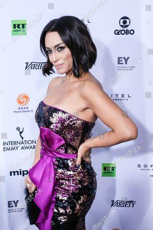Brazilian actress Suzana Pires