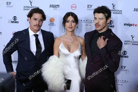 Editorial photo of 46th Annual International Emmy Awards, Arrivals, New York, USA - 19 Nov 2018