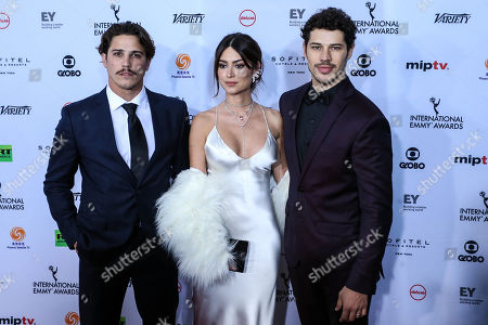Romulo Arantes Neto, Thaila Ayala and José Loreto