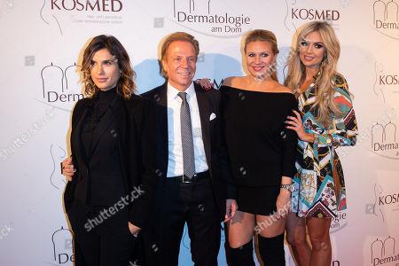 Magdalena Brzeska, Rosanna Davison, Elisabetta Canalis, Dr. Hans- Voigt