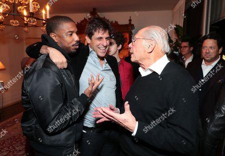 Michael B. Jordan, Jonathan Glickman - President, Motion Picture Group, Metro Goldwyn Mayer and Producer Irwin Winkler