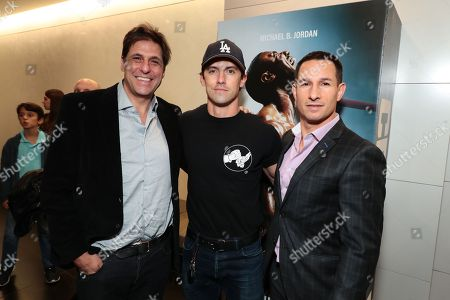Stock Picture of Jonathan Glickman - President, Motion Picture Group, Metro Goldwyn Mayer, Milo Ventimiglia and Adam Rosenberg - Co-Presidents of Production, Metro Goldwyn Mayer