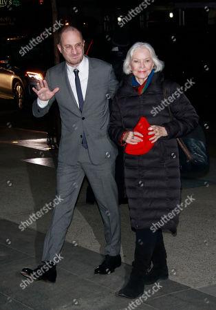 Darren Aronofsky and Ellen Burstyn