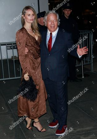 Ricki Lander and Robert Kraft