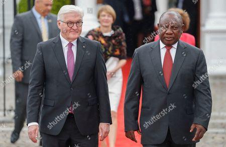 President of Germany Frank-Walter Steinmeier visit to South Africa