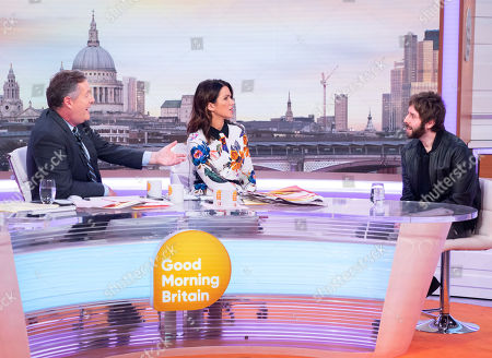 Editorial picture of 'Good Morning Britain' TV show, London, UK - 20 Nov 2018