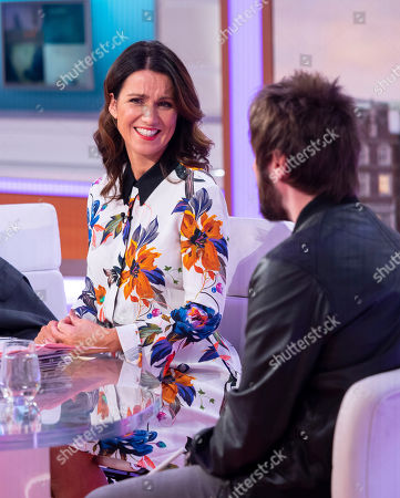 Editorial image of 'Good Morning Britain' TV show, London, UK - 20 Nov 2018