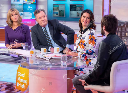 Kate Garraway, Piers Morgan, Susanna Reid and James Buckley