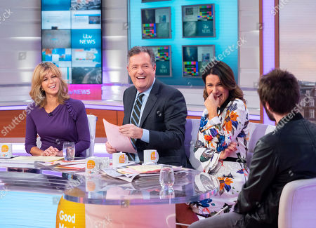 Stock Image of Kate Garraway, Piers Morgan, Susanna Reid and James Buckley