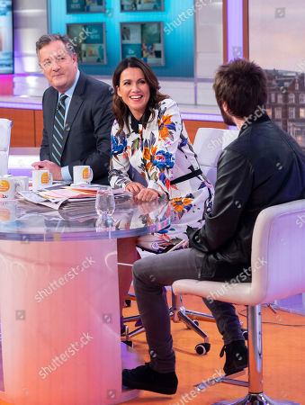 Editorial photo of 'Good Morning Britain' TV show, London, UK - 20 Nov 2018