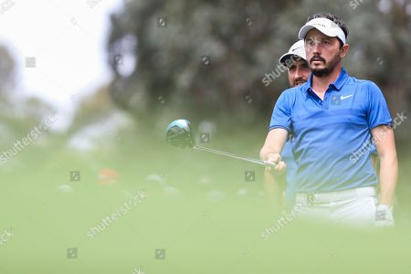 French pair Michael Lorenzo-Vera and Alexander Levy during Round 3 of the World Cup Of Golf.