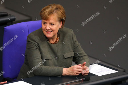 Bundestag session on the budget for 2019, Berlin