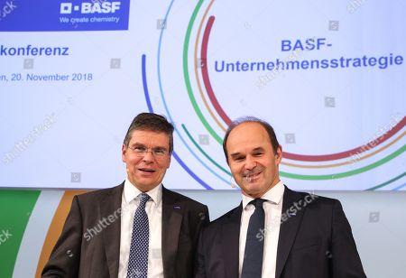 BASF future strategic direction press conference, Ludwigshafen