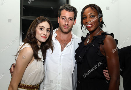 Editorial picture of Heineken Hosted USTA US Open Official Player Party at Skyline Studios, New York, America - 28 Aug 2009