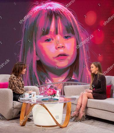 Editorial picture of 'Lorraine' TV show, London, UK - 20 Nov 2018