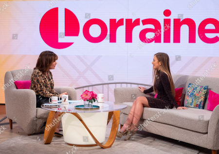 Lorraine Kelly and Connie Talbot