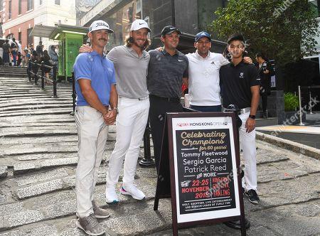 Honma Hong Kong Golf Tournament, Press conference