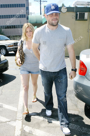 Stock Picture of Hilary Duff, Michael William Comrie
