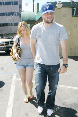 Editorial photo of Hilary Duff, Michael William Comrie out and about in Toluca Lake, California, America - 29 Aug 2009