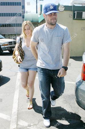 Stock Photo of Hilary Duff, Michael William Comrie