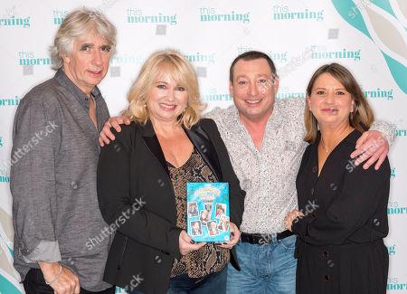 Phil Redmond, Paula Ann Bland (Claire Scott), Lee MacDonald (Zammo McGuire) and Lisa York (Julie Marchant)