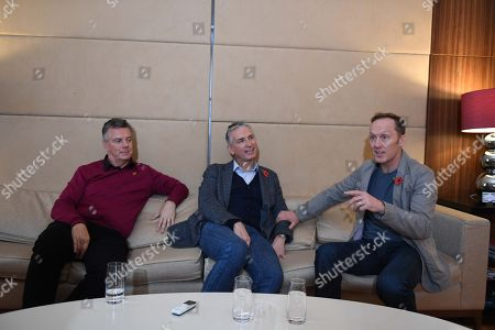 David O'leary Lee Dixon And Alan Smith. Ex Arsenal Players From The '89 Title Winning Season David O'leary Lee Dixon And Alan Smith.