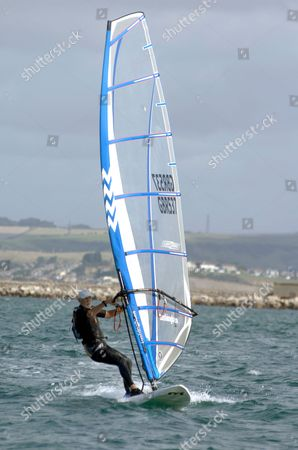 Editorial image of World Windsurfing event, Weymouth and Portland Sailing Academy, Dorset, Britain - 29 Aug 2009