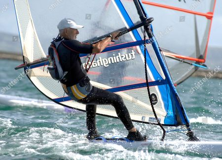Editorial photo of World Windsurfing event, Weymouth and Portland Sailing Academy, Dorset, Britain - 29 Aug 2009