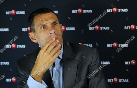 Editorial picture of Gus Poyet Interview With The Daily Mail Sports Desk.
