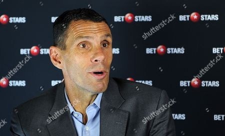Stock Image of Gus Poyet