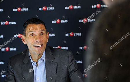 Editorial image of Gus Poyet Interview With The Daily Mail Sports Desk.