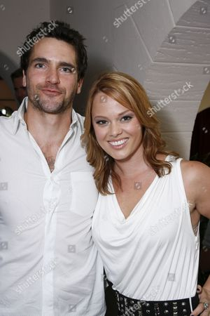 Stock Picture of Jackson Hurst and Kate Levering
