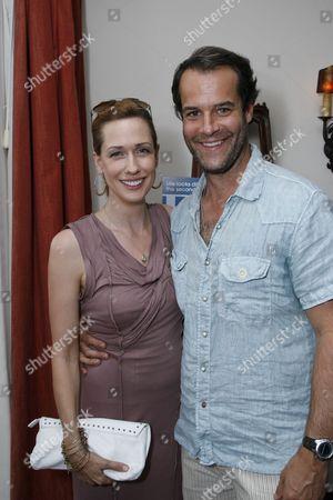 Stock Picture of Myndy Crist and Josh Stamberg