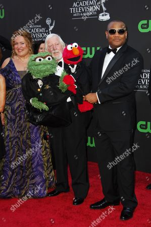 Caroll Spinney, The Grouch, Elmo & Kevin Clash