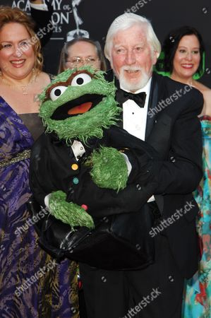 Caroll Spinney & The Grouch