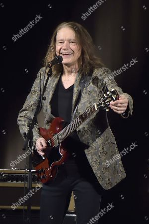 Editorial picture of Robben Ford in concert at Le Trianon, Paris, France  - 10 Nov 2018