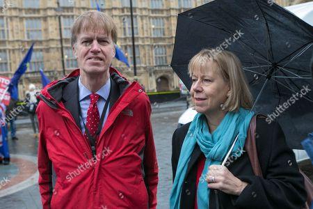 Stephen Timms MP, Labour (L) Ruth Cadbury MP, Labour (R)