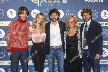 Davide Oldani, Diletta Leotta, Damiano Tommasi, Manuela Ronchi, Demetrio Albertini