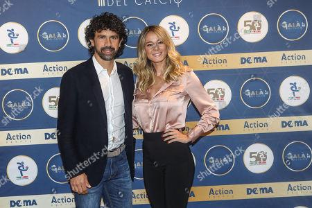 Damiano Tommasi and Diletta Leotta
