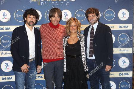 Damiano Tommasi, Davide Oldani, Manuela Ronchi, Demetrio Albertini