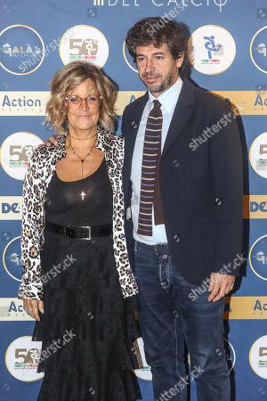 Demetrio Albertini and Manuela Ronchi
