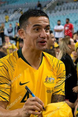 Editorial picture of Australia v Lebanon, International friendly football match, ANZ Stadium, Sydney, Australia - 20 Nov 2018