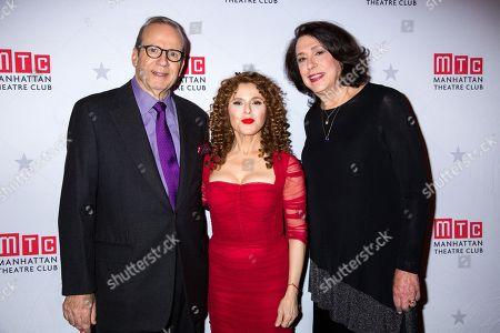 Barry Grove, Bernadette Peters, Lynne Meadow