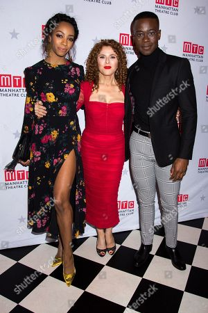 Christiani Pitts, Bernadette Peters, Bradley Gibson
