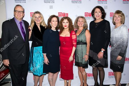 Editorial image of Bernadette Peters at MTC's Fall Benefit!, New York, USA - 19 Nov 2018