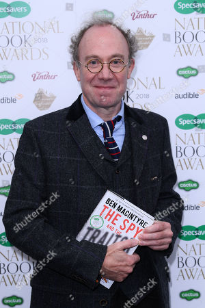 Editorial photo of The National Book Awards, London, UK - 20 Nov 2018