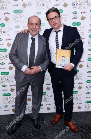 Stock Image of Gennaro Contaldo and Jamie Oliver