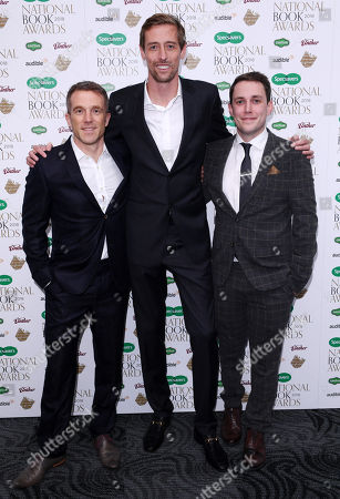 Stock Photo of Peter Crouch, Tom Fordyce and Chris Stark